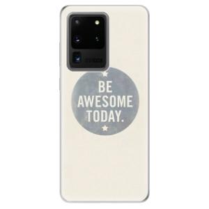 Odolné silikonové pouzdro iSaprio - Awesome 02 na mobil Samsung Galaxy S20 Ultra