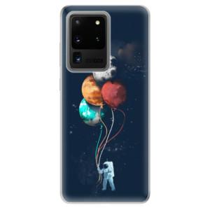 Odolné silikonové pouzdro iSaprio - Balloons 02 na mobil Samsung Galaxy S20 Ultra