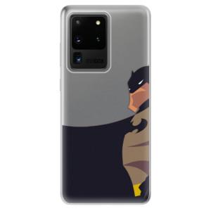 Odolné silikonové pouzdro iSaprio - BaT Comics na mobil Samsung Galaxy S20 Ultra