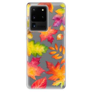 Odolné silikonové pouzdro iSaprio - Autumn Leaves 01 na mobil Samsung Galaxy S20 Ultra