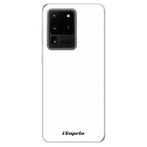 Odolné silikonové pouzdro iSaprio - 4Pure - bílé na mobil Samsung Galaxy S20 Ultra