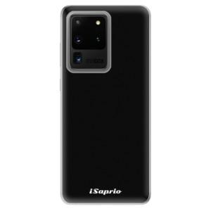 Odolné silikonové pouzdro iSaprio - 4Pure - černé na mobil Samsung Galaxy S20 Ultra