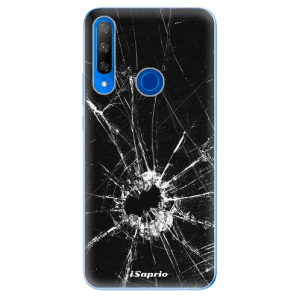 Odolné silikonové pouzdro iSaprio - Broken Glass 10 - Huawei Honor 9X