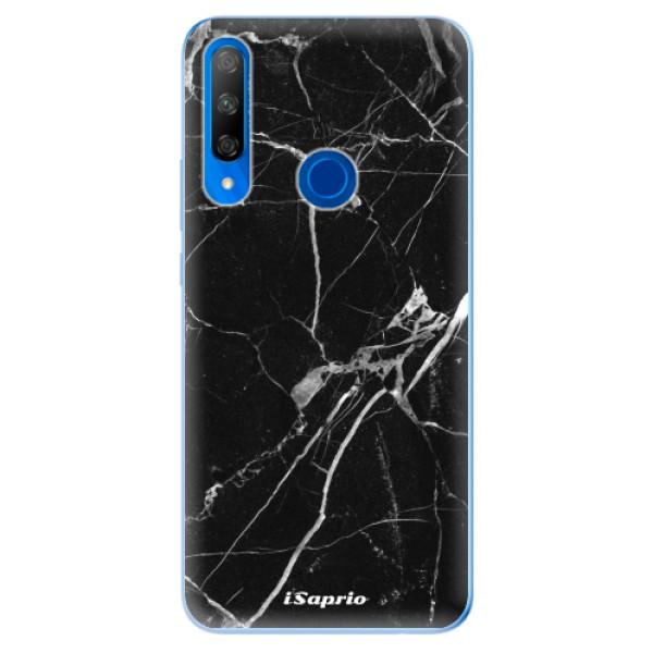 Odolné silikonové pouzdro iSaprio - Black Marble 18 - Huawei Honor 9X