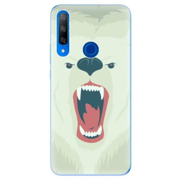 Odolné silikonové pouzdro iSaprio - Angry Bear - Huawei Honor 9X