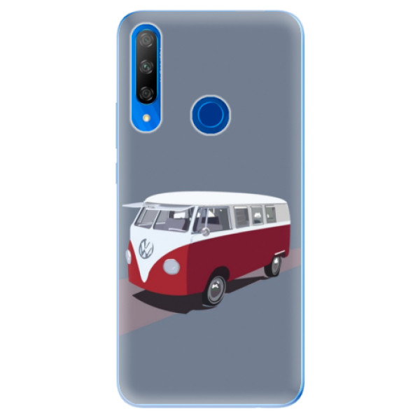 Odolné silikonové pouzdro iSaprio - VW Bus - Huawei Honor 9X
