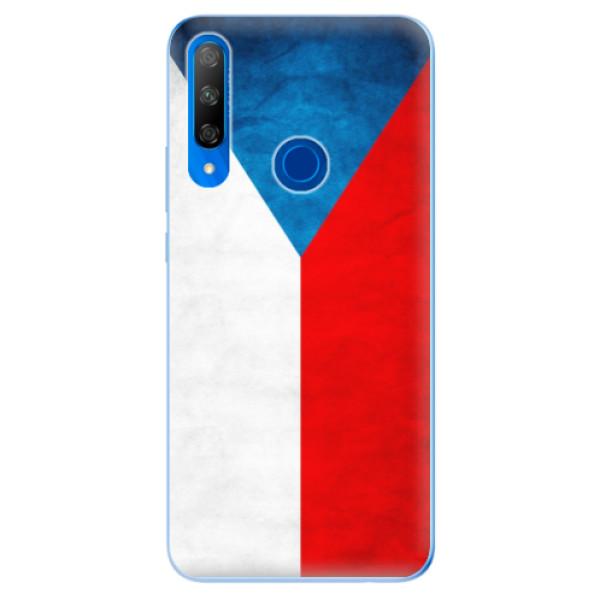 Odolné silikonové pouzdro iSaprio - Czech Flag - Huawei Honor 9X