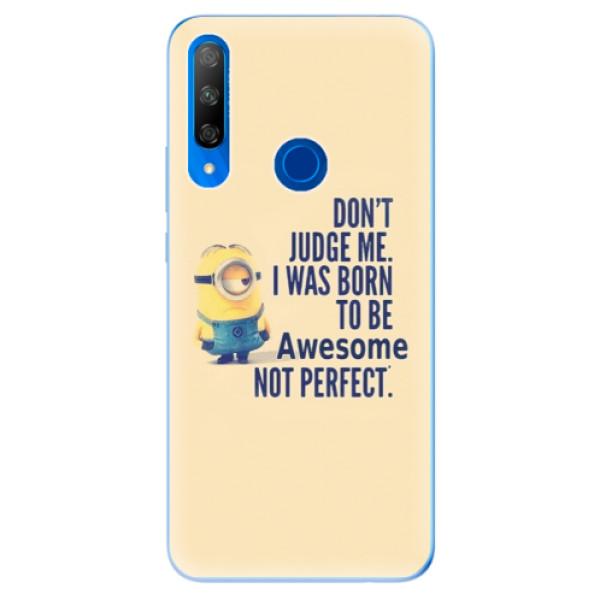 Odolné silikonové pouzdro iSaprio - Be Awesome - Huawei Honor 9X