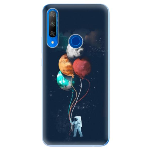 Odolné silikonové pouzdro iSaprio - Balloons 02 - Huawei Honor 9X
