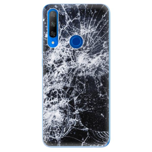 Odolné silikonové pouzdro iSaprio - Cracked - Huawei Honor 9X