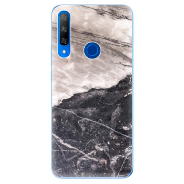 Odolné silikonové pouzdro iSaprio - BW Marble - Huawei Honor 9X