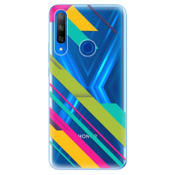 Odolné silikonové pouzdro iSaprio - Color Stripes 03 - Huawei Honor 9X