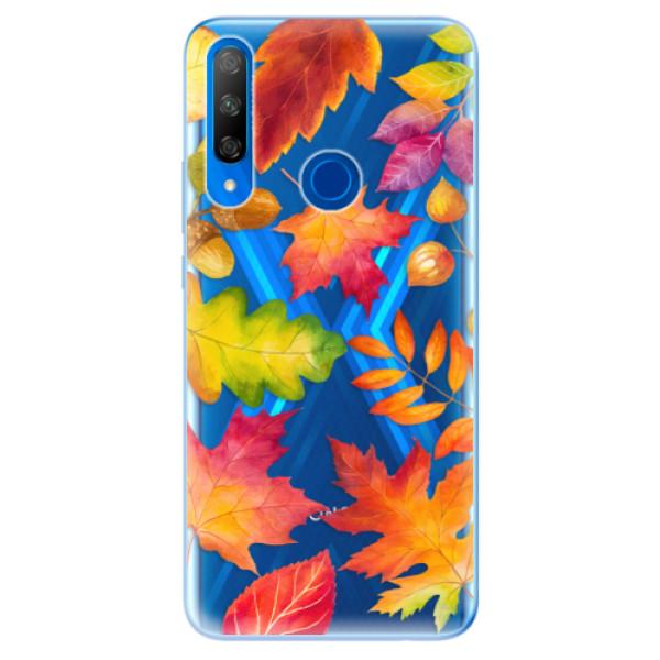 Odolné silikonové pouzdro iSaprio - Autumn Leaves 01 - Huawei Honor 9X