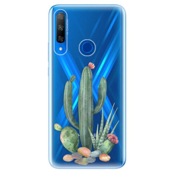 Odolné silikonové pouzdro iSaprio - Cacti 02 - Huawei Honor 9X