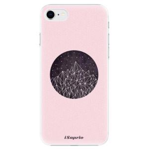 Plastové pouzdro iSaprio - Digital Mountains 10 na mobil Apple iPhone SE 2020