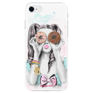 Plastové pouzdro iSaprio - Donuts 10 na mobil Apple iPhone SE 2020