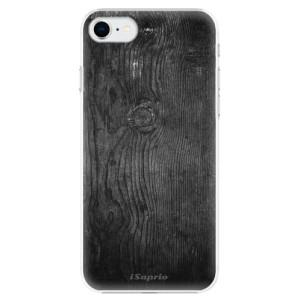 Plastové pouzdro iSaprio - Black Wood 13 na mobil Apple iPhone SE 2020