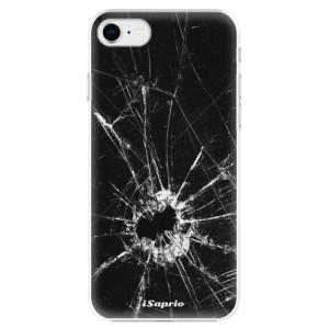 Plastové pouzdro iSaprio - Broken Glass 10 na mobil Apple iPhone SE 2020