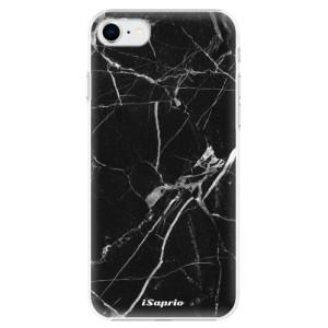 Plastové pouzdro iSaprio - Black Marble 18 na mobil Apple iPhone SE 2020