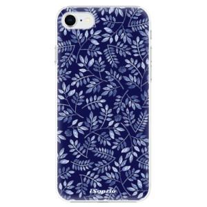 Plastové pouzdro iSaprio - Blue Leaves 05 na mobil Apple iPhone SE 2020