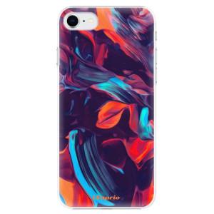 Plastové pouzdro iSaprio - Color Marble 19 na mobil Apple iPhone SE 2020