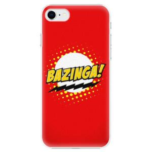 Plastové pouzdro iSaprio - Bazinga 01 na mobil Apple iPhone SE 2020