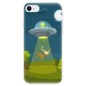 Plastové pouzdro iSaprio - Alien 01 na mobil Apple iPhone SE 2020