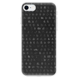 Plastové pouzdro iSaprio - Ampersand 01 na mobil Apple iPhone SE 2020