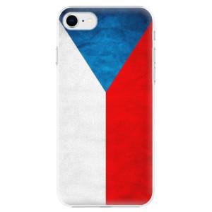 Plastové pouzdro iSaprio - Czech Flag na mobil Apple iPhone SE 2020