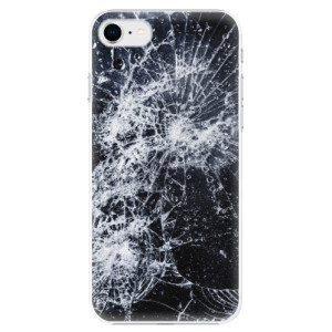 Plastové pouzdro iSaprio - Cracked na mobil Apple iPhone SE 2020