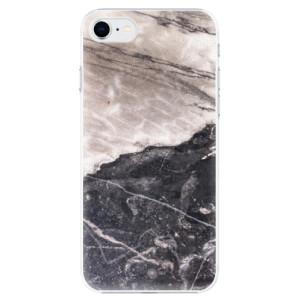 Plastové pouzdro iSaprio - BW Marble na mobil Apple iPhone SE 2020