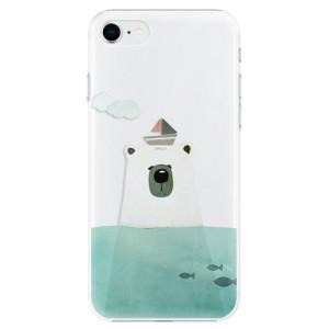 Plastové pouzdro iSaprio - Bear With Boat na mobil Apple iPhone SE 2020