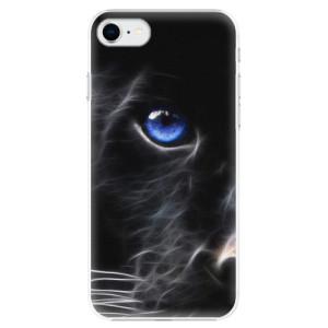 Plastové pouzdro iSaprio - Black Puma na mobil Apple iPhone SE 2020