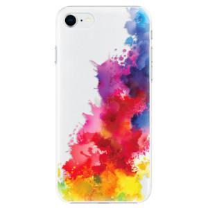 Plastové pouzdro iSaprio - Color Splash 01 na mobil Apple iPhone SE 2020
