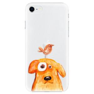 Plastové pouzdro iSaprio - Dog And Bird na mobil Apple iPhone SE 2020