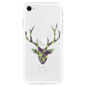 Plastové pouzdro iSaprio - Deer Green na mobil Apple iPhone SE 2020
