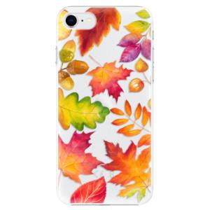 Plastové pouzdro iSaprio - Autumn Leaves 01 na mobil Apple iPhone SE 2020