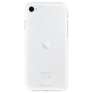 Plastové pouzdro iSaprio - 4Pure - čiré bez potisku na mobil Apple iPhone SE 2020