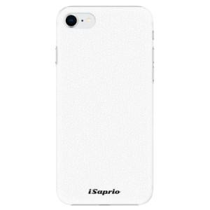 Plastové pouzdro iSaprio - 4Pure - bílé na mobil Apple iPhone SE 2020
