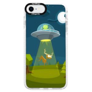 Bytelné silikonové pouzdro Bumper iSaprio - Alien 01 - na mobil Apple iPhone SE 2020