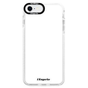 Bytelné silikonové pouzdro Bumper iSaprio - 4Pure - bílé - na mobil Apple iPhone SE 2020