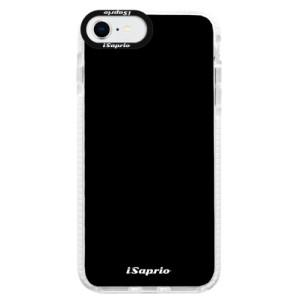 Bytelné silikonové pouzdro Bumper iSaprio - 4Pure - černé - na mobil Apple iPhone SE 2020