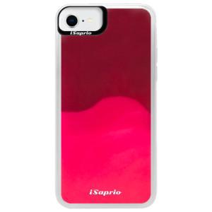Neonové pouzdro Pink iSaprio - 4Pure - čiré bez potisku - na mobil Apple iPhone SE 2020