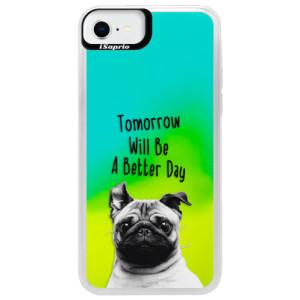 Neonové pouzdro Blue iSaprio - Better Day 01 - na mobil Apple iPhone SE 2020