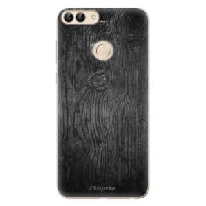 Odolné silikonové pouzdro iSaprio - Black Wood 13 na mobil Huawei P Smart