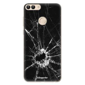 Odolné silikonové pouzdro iSaprio - Broken Glass 10 na mobil Huawei P Smart