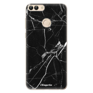 Odolné silikonové pouzdro iSaprio - Black Marble 18 na mobil Huawei P Smart