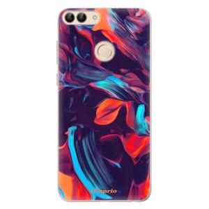 Odolné silikonové pouzdro iSaprio - Color Marble 19 na mobil Huawei P Smart
