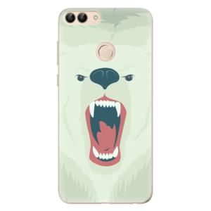 Odolné silikonové pouzdro iSaprio - Angry Bear na mobil Huawei P Smart