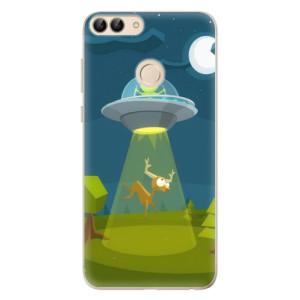 Odolné silikonové pouzdro iSaprio - Alien 01 na mobil Huawei P Smart